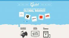 Web Design Inspiration - Guided Creative