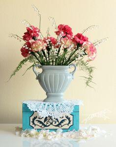 Flower arrangement Carnation & lily of the valley  kesä - kukka - kielo - neilikka
