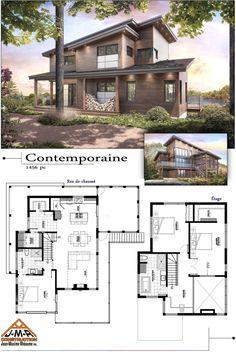 Plans des maisons modèles de Construction Jean-Maxime Rhéaume Inc Entrepreneur général résidentiel et commercial
