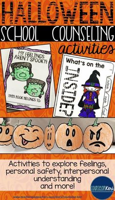 Halloween activities and resources for elementary school counseling! -Counselor Keri