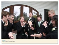 Funny picture for the groomsmen! haha