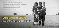 Sustainable Agriculture Outlook Rooted with Millennials