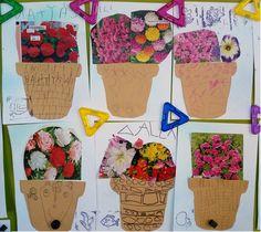 Plant Art, Paul Klee, Planter Pots, Jar, Flowers, Plants, Kids, Spring, Crafting