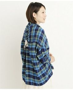 Plaid shirt  /  [UNITED ARROWS green label relaxing] ミエル]MIELLE CHECK シャツ  - shopstyle.co.jp