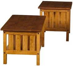 These solid pine Vienna coffee and end tables are ideal for adding functional rustic appeal to any room of the home. Available in both a clear lacquer or honey pine finish. Pictured above with the Mission cut out and honey finish. Rustic Pine Furniture, Copper Furniture, Cabin Furniture, Talavera Pottery, Knotty Pine, Coffee And End Tables, Solid Pine, Furniture Collection, Vienna