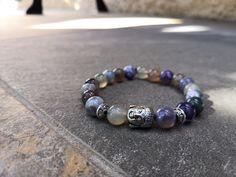 Bracelet Krabi Krabi, Violet, Beaded Bracelets, Jewelry, Shades Of Green, Jewlery, Jewerly, Pearl Bracelets, Schmuck