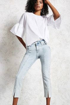 Product Name:Cropped Skinny Jeans, Category:bottom_jeans, Price:32.9
