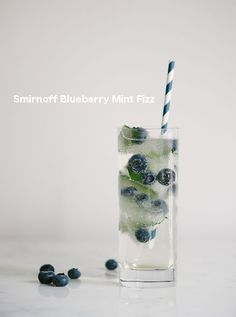 blueberry mint cocktail, menarik :3