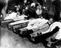 Morgue Photos Of Titanic Victims | Viewing Victims at the Morgue