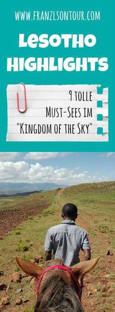 Sehenswürdigkeiten Lesotho - wenn du unseren Artikel gelesen hast, wirst du dich garantiert auch in dieses Land inmitten von Südafrika verlieben!