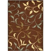 Found+it+at+Wayfair+-+Ottohome+Chocolate+Leaves+Area+Rug