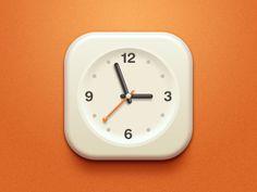 Clock Icon by Iftikhar Ahmad