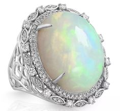 Yael Designs opal cocktail ring | JCK On Your Market