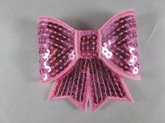 """3"""" sequin bows, Light pink, pink sequin, pink sequin bow"""