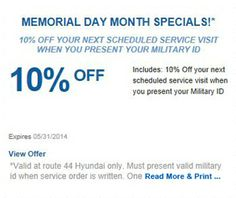 memorial day new car deals