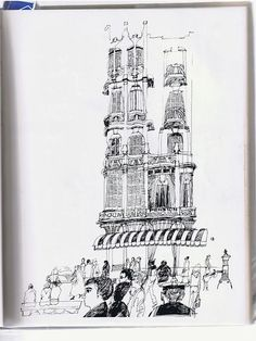 Paul Hogarth   EYE-LIKEY Walton Ford, Art And Illustration, Art Illustrations, Line Sketch, Line Drawing, Artist Sketchbook, Sketchbook Ideas, Sketchbook Inspiration, Jazz Art