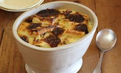 Bread and Butter Pudding with Apricot Paste