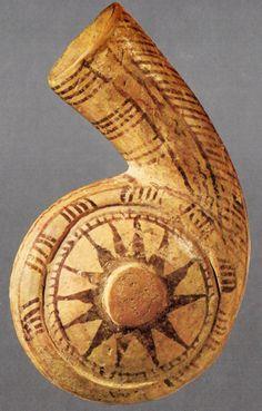 Hititte, snail form, Kültepe-Kaniş (Kurt Bittel) (Erdinç Bakla archive) Great Warriors, Minoan, Islamic World, Animals Images, Ancient Artifacts, Ancient Civilizations, Magick, Archaeology, Art History