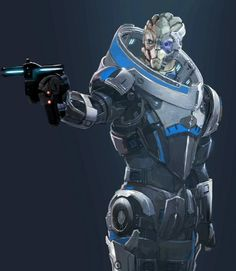 Gotta start off with the stylish of them all: mo'fuggin Garrus Vakarian.