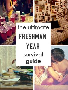 The Ultimate Freshman Year Survival Guide This is an awesome list that covers everything you need to know about freshman year! From roommates, to parties, to academics, and more – this ultimate freshman year survival guide has all the information you need College Freshman Tips, College Life Hacks, College Years, College Dorm Rooms, Dorm Life, College Roommate, School Hacks, College Students, Uni Dorm