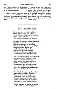 Paul Revere's Ride - Wikipedia, the free encyclopedia