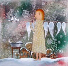 Anna Silivonchik - Día de lavado de alas