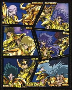 Saint Seiya Chevaliers d'Or