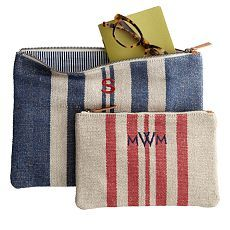Personalized Clutches + Wallets | Mark and Graham
