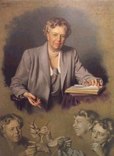 """In the long run, we shape our lives, and we shape ourselves. The process never ends until we die. And the choices we make are ultimately our own responsibility."""" ~ Eleanor Roosevelt"""