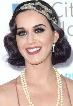 peinados retro - Katy Perry #hair