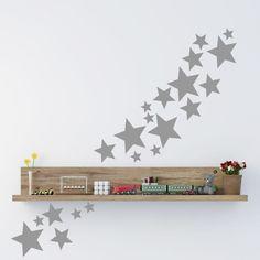 muursticker - muurtekst dag sterren, dag maan | muurdecoratie van, Deco ideeën