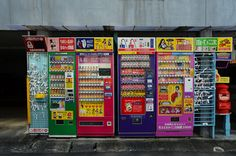 Nagasaki, Japan - November 14 Wide variety of fortune cookies to religious charms vending machines located near Kofukuji Temple Vending Machines In Japan, Drink Vending Machines, Nagasaki, Cigarette Vending Machine, Guide To Japanese, Chicken And Chips, Tokyo Food, Japon Tokyo, Boss Coffee