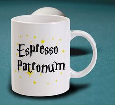 "Taza ""Espresso Patronum"" inspirada en Harry Potter de IYabOSS"