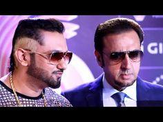 Yo Yo Honey Singh at the red carpet of the GiMA Awards Yo Yo Honey Singh, Mirrored Sunglasses, Mens Sunglasses, Singers, Red Carpet, Pilot, Bollywood, Awards, Youtube