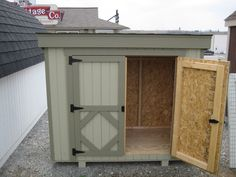 Easy Diy Storage Shed Ideas Build A Shed Kit, Diy Shed Kits, Diy Storage Shed Plans, Build Your Own Shed, Wood Shed Plans, Building A Shed, Storage Sheds, Small Storage, Building Ideas