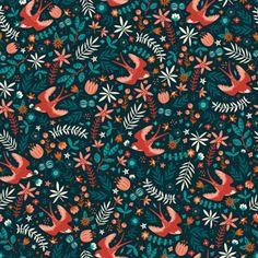 Flying Swallows by Anna Deegan