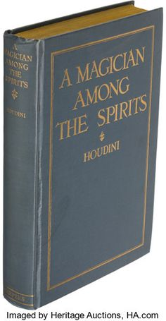A Magician Among the Spirits. New York: Harper & Brothers, First edition. Presentation - Available at 2019 September 5 Rare Books. Mechanical Workshop, Small Cafe Design, Workshop Storage, Popular Mechanics, Kid Furniture, Cardboard Furniture, Furniture Design, New York, I Love Books