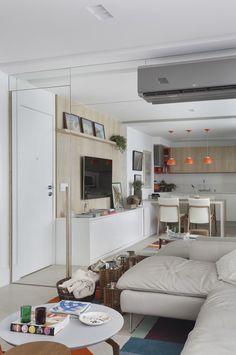 Apartamento integrado (Foto: Denílson Machado/Divulgação)