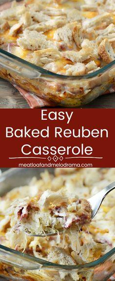 Easy Baked Reuben Ca