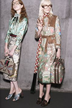 On the first day of Milan Fashion Week, Alessandro Michele proved that his new world at Gucci has no borders.