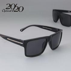 New Arrival Brand Sunglasses Men Polarized Fashion Eyes Protect UV400 Black Square Sun Glasses With Box gafas de PL259