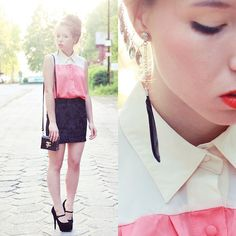GIVE ME A MILKSHAKE ! (by Wioletta Mary Kate) http://lookbook.nu/look/3516547-GIVE-ME-A-MILKSHAKE