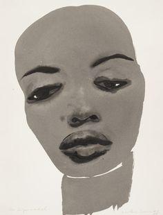 MARLENE DUMAS, THE SUPERMODEL 1995: best portrait of naomi for all time.