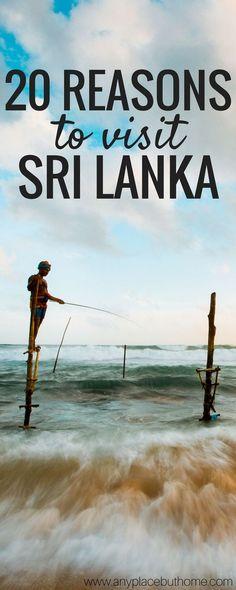 20 reasons why you should visit Sri Lanka.