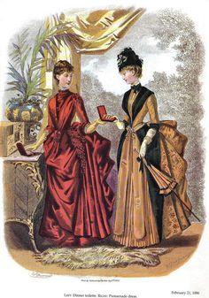 1886 La Mode Illustrée.