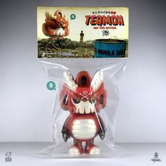 TEQMON Red Tide Edition! [Toysrevil 10th Anniversary Exclusive]  These babies are limited to only 10 pcs, in celebration of @toysrevil's 10th Anniversary!    Up for grabs TODAY at 12noon (+8 GMT Singapore) via http://toysrevil.bigcartel.com!  Happy hunting and see you on the other side, folks! :)  #teqmon #manilabay #redtide #kaiju #toysrevil #redmutuca #quiccs #hiddenfortress #toylife  (at toysrevil.bigcartel.com)