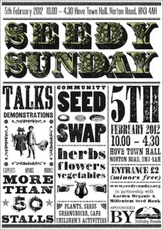 Seedy Sunday helps organize seed swaps in the UK. Lots of good advice on their site.