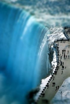 Niagara Falls Ontario side, I never get sick of taking my friends that are visiting Canada here!