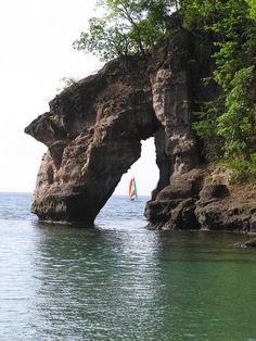 The arch at Secret Beach, Dominica Kayaking Adventure to Secret Beach with Shanti yesterday!! 10 foot waves!!!! This place was amazing! We felt like rock stars when we made it back!!!