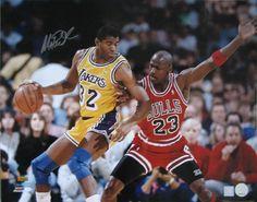 in a 1 on 1 game who will win Magic Johnson or Michael Jordan it's MJ vs MJ......32 vs 23